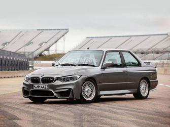BMW M3 E30 photoshop