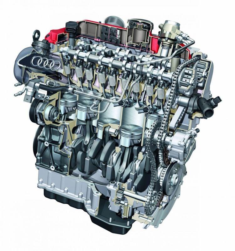 Audi 2.5 5-cilinder turbo