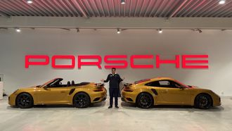 Sjoerds Weetjes Porsche
