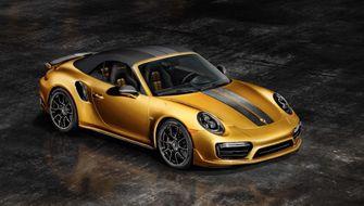 Porsche 911 Turbo s exclusive series daddk