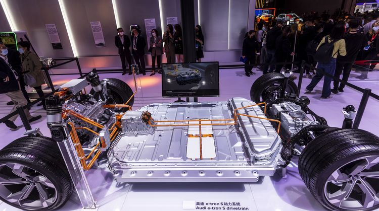 Audi e-tron S drivetrain