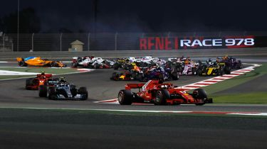 autovisie f1 quiz bahrein 2018 opening zonder logo