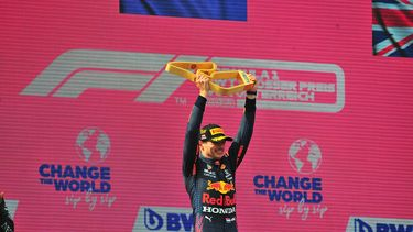 Verstappen podium