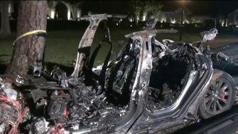 Tesla Autopilot crash april 2021 2