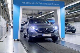 Mercedes-Benz EQC 400 4Matic productie 1