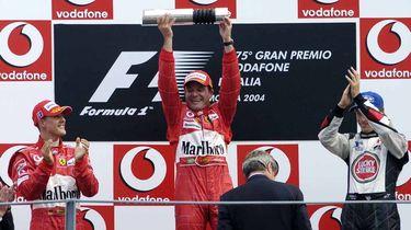 Schumacher, Barrichello, Button