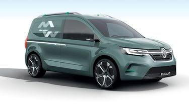 Renault Kangoo Z.E. Concept 2019 Foto 3