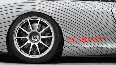 McLaren Speedtail Prototype 4