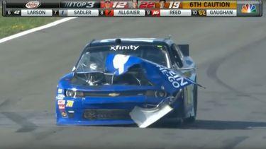 NASCAR ontploft