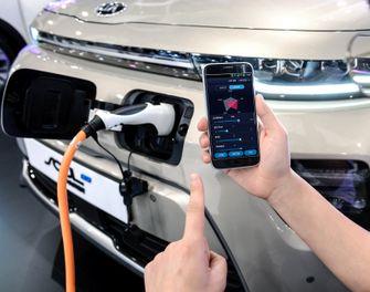 Hyundai Introduces Smartphone Based EV Performance Control Technology 1