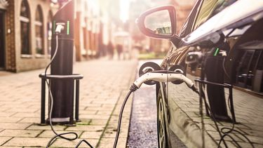Elektrische auto opladen