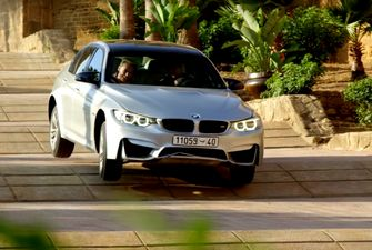 Dit is geen BMW M3... Foto: Mission Impossible