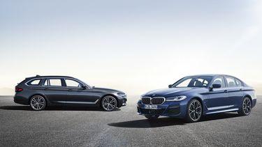 BMW 5 Serie facelift