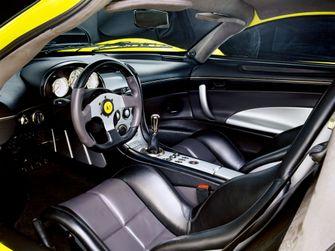 Saleen S7 cockpit