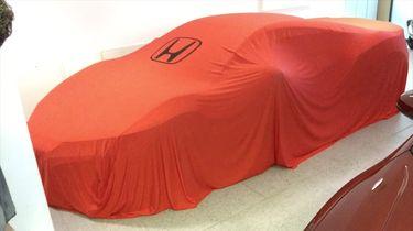 Eerste Honda NSX gespot bij dealer in Frankfurt