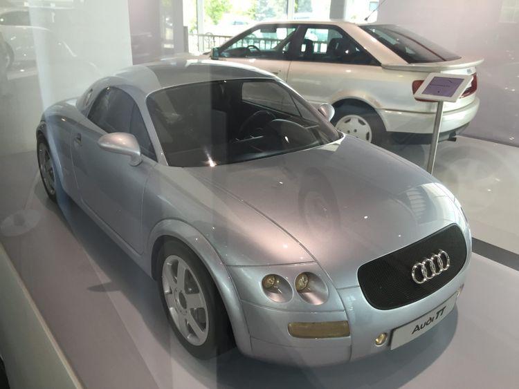 Audi TT prototype