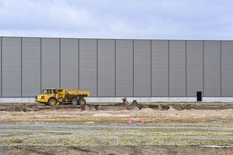 Tesla Gigafactory in aanbouw 2021 april Berlijn