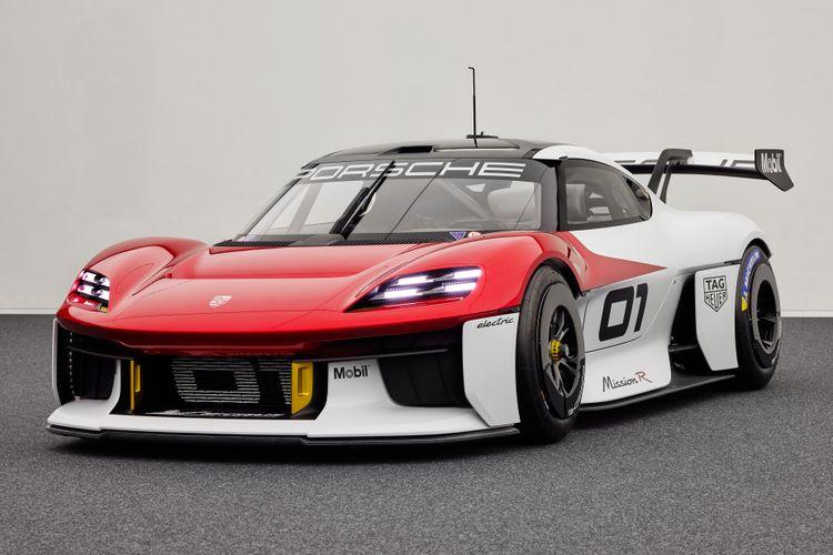 De Porsche Mission R is een voorzichtige voorbode op een elektrische 718.