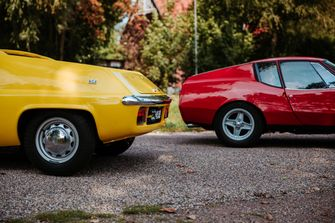Mini supercars: Lotus Europa vs. Lombardi Grand Prix