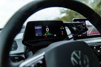 elektrische Volkswagen dashboard
