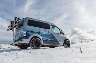 Nissan campers e-NV200