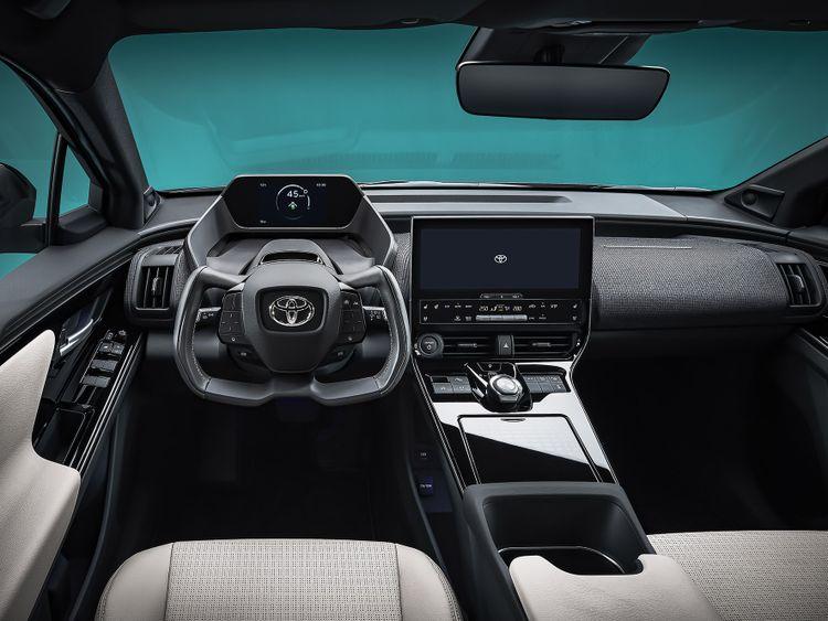 Interieur Toyota BZ4X