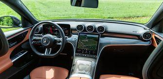 Mercedes C-Klasse interior