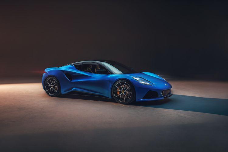 De Lotus Emira is het laatste model met een verbrandingsmotor.
