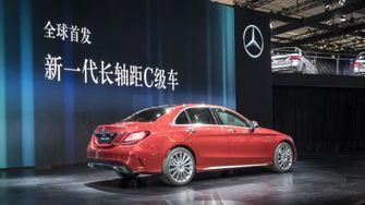Mercedes C-Klasse Limousine