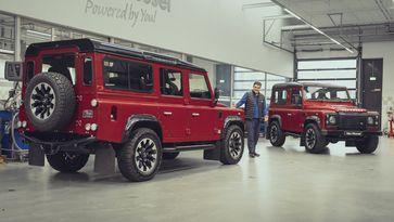 Land Rover Works Sjoerds Weetjes