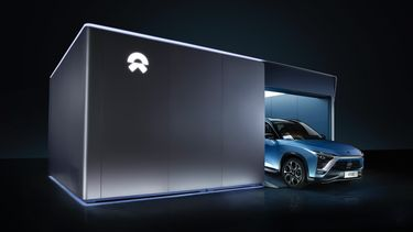 Nio Swapping Station