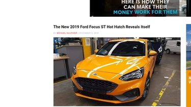 Ford Focus ST spyshots 1