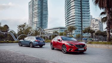 Mazda 6 facelift 2017